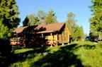 Blockhaus-Unterkunft beim Bryce Canyon und Badlands National Park