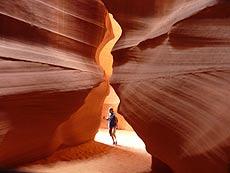Antelope Canyon von Ruedi Arzner, USA