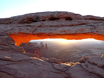 Mesa Arch, Canyonlands National Park, Sonnenaufgang