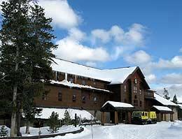 Old Faithful Snow Lodge, Yellowstone