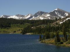Sierra Nevada Gebirgskette, Kalifornien
