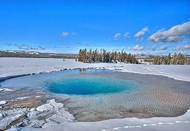 heisse Quelle im Yellowstone