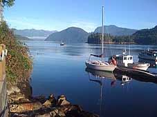 Inselwelt von British Columbia