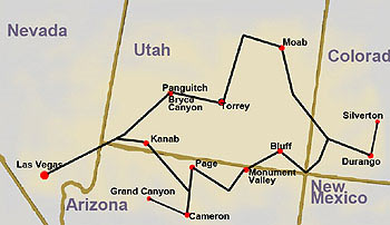map-national-parks-tour-winter