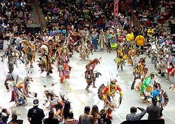 Powow Gathering of Nations in Albuquerque