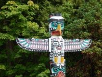 Stanley Park Totem Pfahl, Vancouver