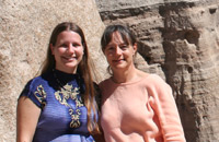 Deborah und Helen, Schweizer Management in Oregon, USA