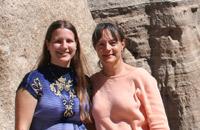 Deborah und Helen, Schweizer Management in Oregon, USA