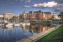 Hafen in Victoria