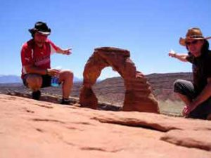 Delicate Arch, das Wahrzeichen des Staates Utah