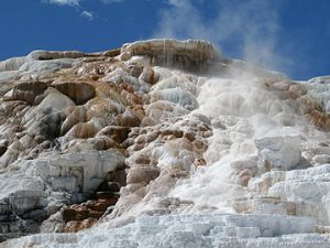 Yellowstone National Park, Mammoth Hot Springs Sinterterassen