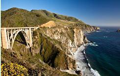 Kalifornien Pazifikküste