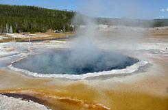 Yellowstone National Park Geysir