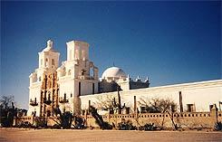 Mission San Xavier del Bac bei Tucson