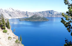 Crater Lake National Park, Oregon Reise