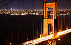 San Francisco bei Nacht, Foto: Martin Fontaine