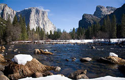 Yosemite Valley und der Merced River