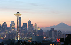 Seattle auf der Pacific Northwest Tour