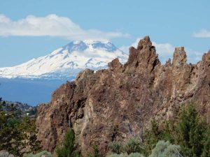 Mount Hood von Central Oregon aus