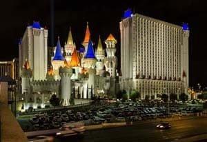 Lichter und Spektakel in Las Vegas