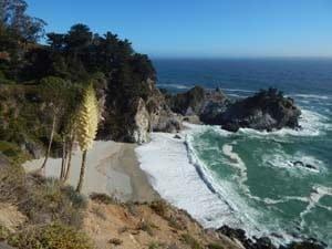 Küste Kaliforniens Oyean