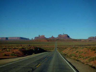 Monument Valley Zufahrtstrasse
