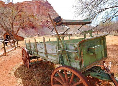 Capitol Reef historischer Wagen