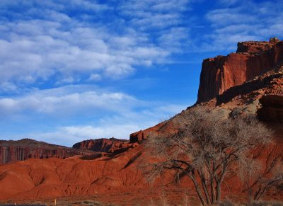 Abendbeleuchtung, Capitol Reef