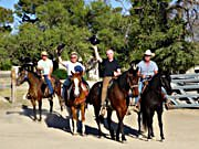 Ausritt auf der Arizona Ranch